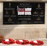 Royal Navy Memorial, Cleethorpes Stock Photo