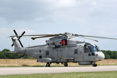 Royal Navy Merlin helicopter Stock Photography