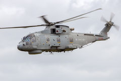 Royal Navy Merlin helicopter Stock Image