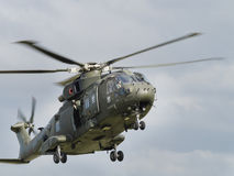 Royal Navy Merlin helicopters Royalty Free Stock Image