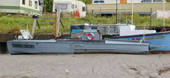 Royal Navy Motorowa Torpedowa łódź 1916 - CMB9 DCB1 fotografia royalty free