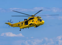 Royal Navy Sea King Helicopter Royalty Free Stock Image