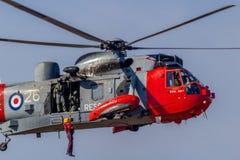 Royal Navy Sea King Stock Photos