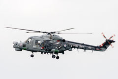 Royal Navy Sea Lynx helicopter Stock Images