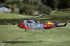 Royal Navy Seaking Stock Photography