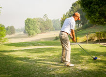 The Royal Nepal Golf Course,Kathmandu Royalty Free Stock Photo
