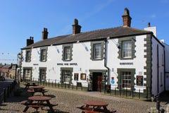 Royal Oak hotel in Garstang, Lancashire Royalty Free Stock Photos