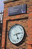 Royal Observatory Greenwich Time Royalty Free Stock Photos