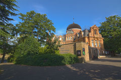 The Royal Observatory - Greenwich, UK Royalty Free Stock Images