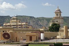 Royal Observatory, Jaipur Royalty Free Stock Images