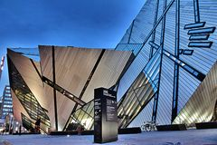 Royal Ontario Museum Royalty Free Stock Images