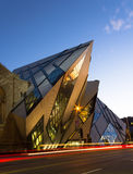 Royal Ontario Museum at Dusk Stock Photo