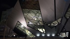 Royal Ontario Museum ROM in Toronto stock footage