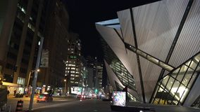 Royal Ontario Museum ROM in Toronto stock video