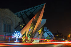 Royal Ontario Museum ROM in Toronto,Canada Royalty Free Stock Photo