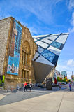 Royal Ontario Museum in a sunny day in Toronto Royalty Free Stock Photography