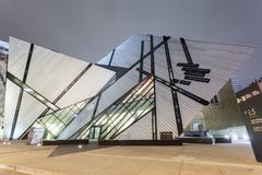 The Royal Ontario Museum in Toronto Stock Photos