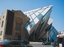 Royal Ontario Museum in Toronto royalty free stock photo