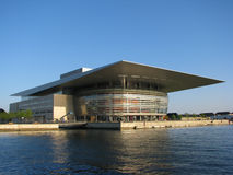 Royal opera house in Copenhagen. New opera house in Copenhagen Stock Images