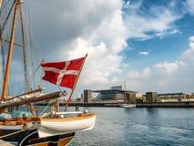 Royal opera house in Copenhagen, Denmark Royalty Free Stock Image