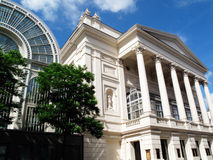 Royal Opera House. The Royal Opera House and the Floral Hall Extension at Covent Garden, London, England, UK, is the home of the Royal Opera and the Royal Ballet Stock Photos