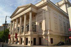 Royal Opera House London Stock Images