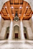 Royal Opera House, Muscat, Oman. Taken in 2015 stock images
