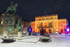 Royal Opera in Stockholm, Sweden Royalty Free Stock Images