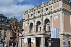 Royal Opera in Stockholm. Stock Photo
