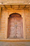 Royal ornamental door Stock Photos
