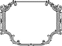 Royal Ornate One Color Frame Stock Photo