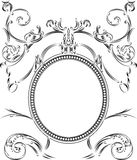Royal Ornate One Color  Vintage Frame Royalty Free Stock Photography