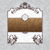 Royal ornate vintage frame Stock Photo