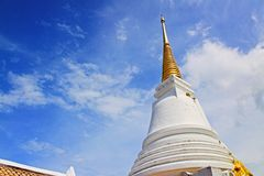 The Royal Pagoda Phra Chedi Luang, Songkhla, Thailand. The Royal Pagoda Phra Chedi Luang is located at Tang Kuan mountain, Songkhla, Thailand Stock Image