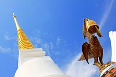 The Royal Pagoda Phra Chedi Luang, Songkhla, Thailand. The Royal Pagoda Phra Chedi Luang is located at Tang Kuan mountain, Songkhla, Thailand Royalty Free Stock Photos