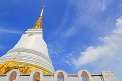 The Royal Pagoda Phra Chedi Luang, Songkhla, Thailand. The Royal Pagoda Phra Chedi Luang is located at Tang Kuan mountain, Songkhla, Thailand Royalty Free Stock Image