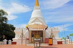 The Royal Pagoda Phra Chedi Luang, Songkhla, Thailand. The Royal Pagoda Phra Chedi Luang is located at Tang Kuan mountain, Songkhla, Thailand Stock Photo