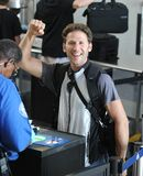 Royal Pains actor Mark Feuerstein at LAX Stock Photo