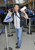 Royal Pains actor Mark Feuerstein at LAX Stock Photos