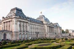 Royal Palace à Bruxelles de Belgiums, de la résidence administrative du roi et de lieu de travail principal photos libres de droits