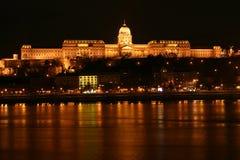 Royal Palace à Budapest Image libre de droits