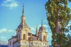 Royal Palace à la La Granja de San Ildefonso, Ségovie, Espagne Image stock
