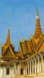 Royal Palace à Phnom Penh Image libre de droits