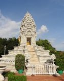 Royal Palace à Phnom Penh Images stock