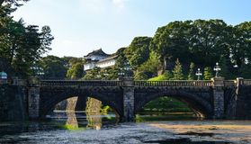 Royal Palace à Tokyo, Japon images stock