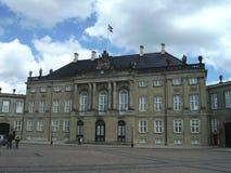 Royal Palace, Δανία, Κοπεγχάγη Στοκ Εικόνα