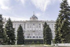 Royal Palace σε Mardid Στοκ Εικόνες