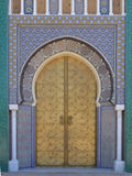 Royal Palace του Fez Στοκ εικόνες με δικαίωμα ελεύθερης χρήσης