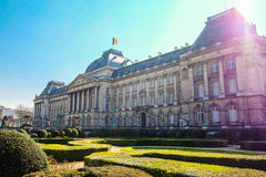 Royal Palace των Βρυξελλών Στοκ Εικόνα