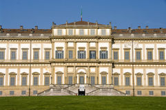 Royal palace. The royal palace in Monza, Built between 1777 and 1780 for austrian emperor Royalty Free Stock Images
